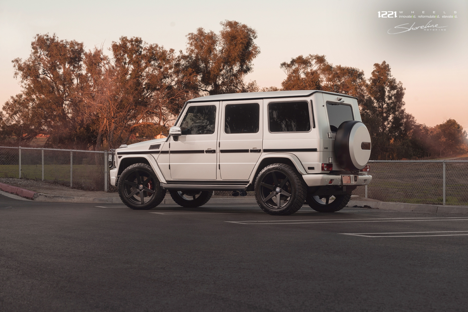 Mercedes Benz G Class AMG Wagon forged concave wheels