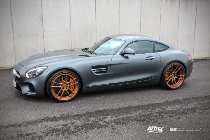 Mercedes Benz GTS GTR AMG Forged Concave Wheels