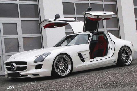 Mercedes-Benz SLS AMG Custom Wheels