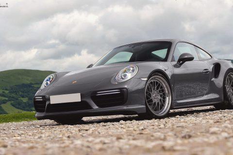 Porsche 911 Carrera Turbo S Custom Wheels