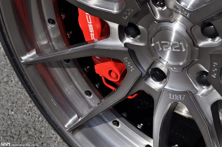 Porsche 911 Turbo S Forged Concave Wheels
