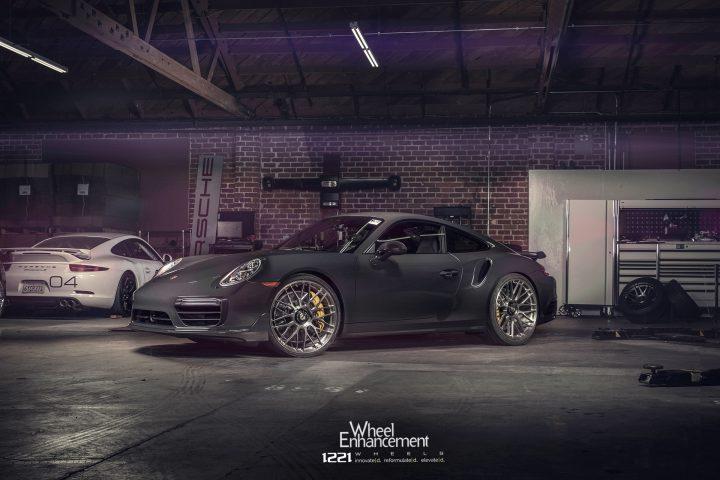Porsche 911 Turbo Forged Wheels