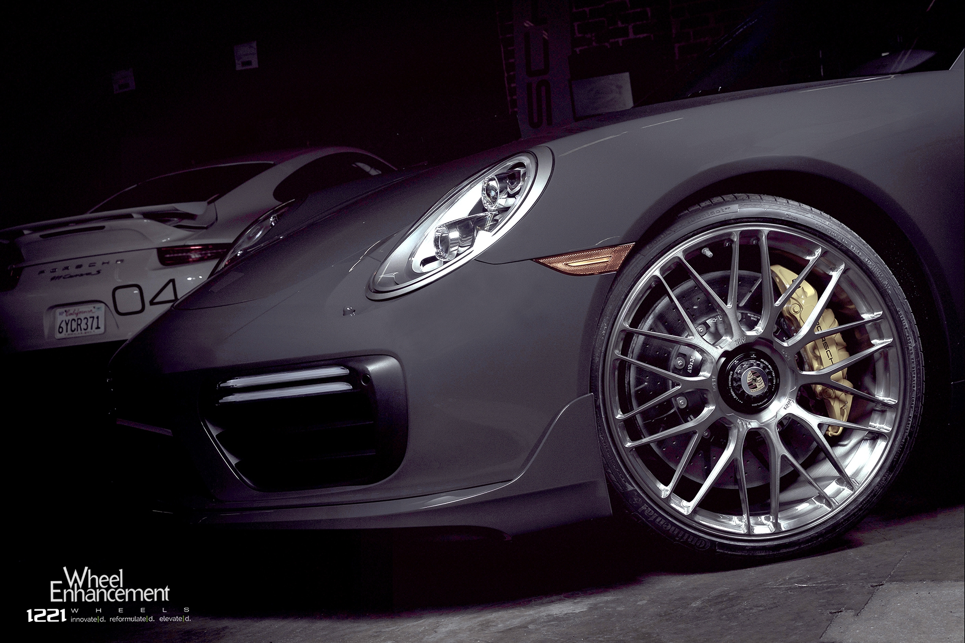 Porsche 911 Turbo Forged Wheels