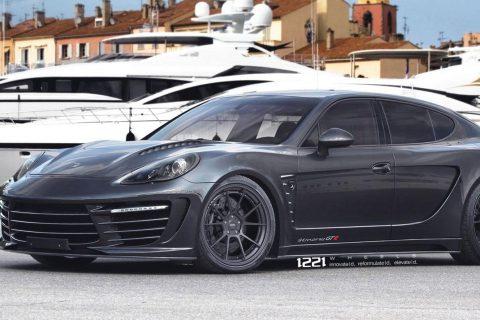 Porsche Panamera Turbo S Custom Wheels