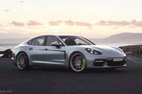 Porsche Panamera Hybrid Custom Wheels