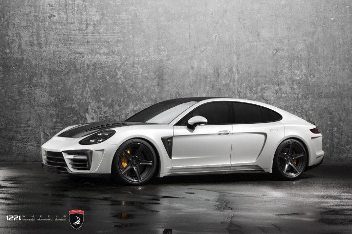 Porsche Panamera Topcar Widebody forged concave wheels