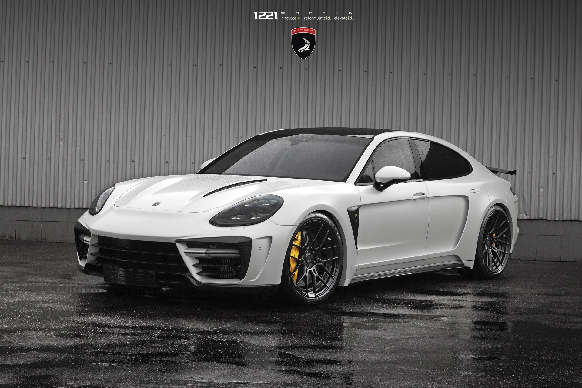 Porsche Panamera Turbo Forged Concave Wheels