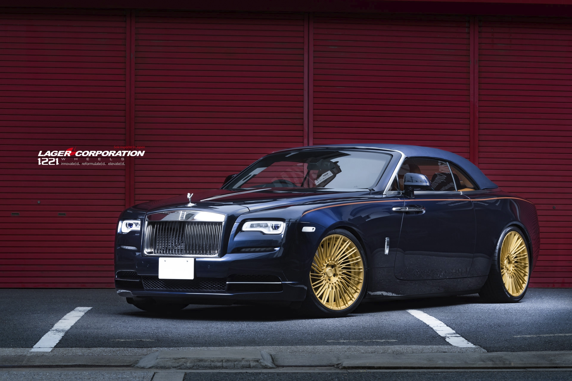 Rolls Royce Dawn Wraith Ghost Sedan Coupe forged concave wheels