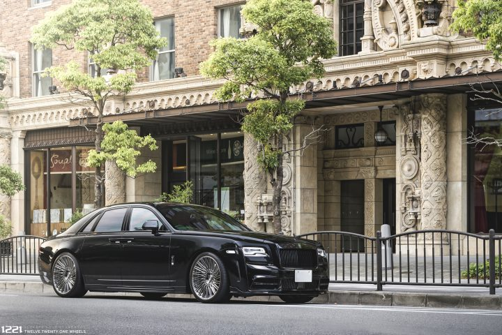 Rolls Royce Ghost Dawn Coupe Forged Concave Wheels