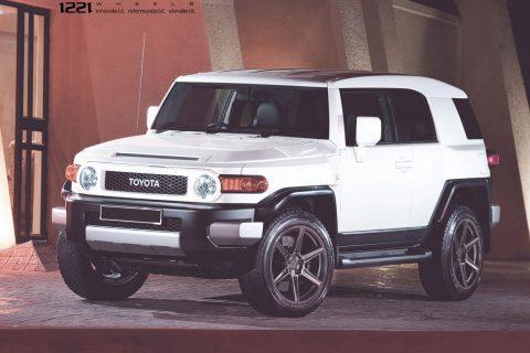 Toyota FJ Cruiser TRD Custom Wheels